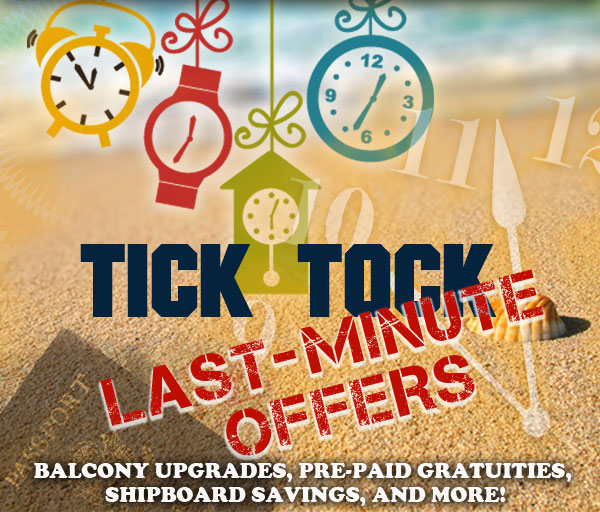 Tick Tock Last-Minute Offers